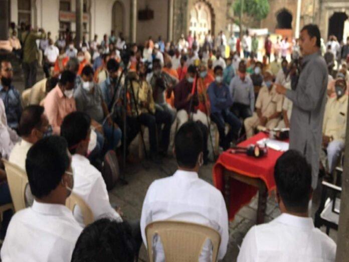 मॅनेज झाल्याच्या आरोपांना संभाजीराजेंचं सडेतोड उत्तर; मोर्चा काढणाऱ्यांनाही दिला सल्ला! - maratha reservation sambhaji rajes answer to the allegations of being managed