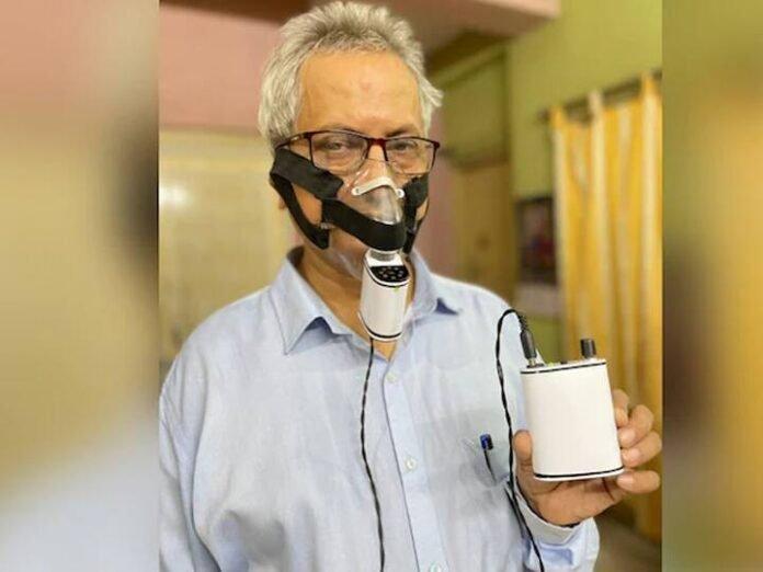 कोलकातामधील संशोधकाने कोरोना रुग्णांसाठी विकसित केले ;पॉकेट व्हेंटिलेटर