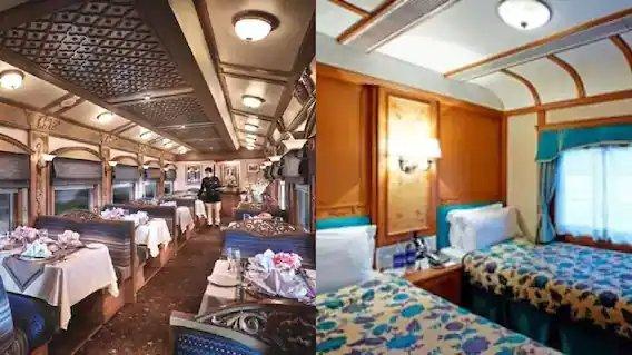 In Pics : भारतातील सर्वात अलिशान ट्रेन्स; प्रवास भाडंही तितकच महाग