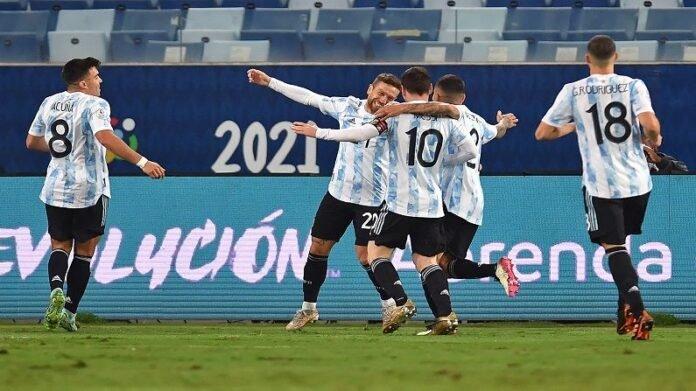 Copa America : मेस्सीचा एका मागोमाग एक गोल, अर्जेंटीनाचा बोलिवियावर दमदार विजय, पाहा VIDEO   In Copa America Argentina vs Bolivia Match Messi did two goals And Argentina Won