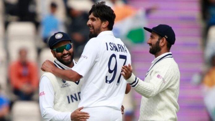 WTC 'पराभवाच्या जखमेवर दुखापतीचं मीठ', इंग्लंड मालिकेआधी टीम इंडियाच्या दिग्गज खेळाडूला टाके!   Ishant Sharma injured Before india vs England Test Series