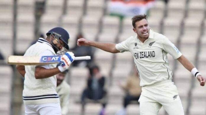 WTC फायनलच्या आठवडाभरानंतर साऊथीचा गौप्यस्फोट, 'रोहितची विकेट मिळाली अन् न्यूझीलंडने...' | Tim Southee reveal Secret Rohit Sharma Wicket Delivery India vs New Zealand WTC Final 2021