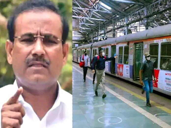 Rajesh Tope: Mumbai Local Train: तरच लोकल ट्रेन सुरू करता येईल; राजेश टोपेंची विधानसभेत माहिती - maharashtra assembly session 2021: health minister rajesh tope on mumbai local train