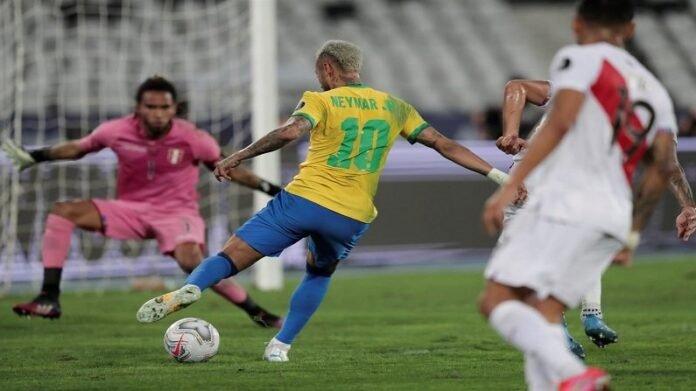 Copa America 2021 : नेमारची जादू आणि ब्राझील अंतिम सामन्यात दाखल, पेरु संघावर अप्रितम विजय, पाहा व्हिडीओ   Neymars Brazil Team Beats Peru in Semi Final and enters In Copa America 2021 Final