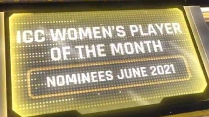 ICC Players of the Month साठी 'या' दोन भारतीय नामांकित, इंग्लंडविरुद्धच्या सामन्यांतील कामगिरीचा फायदा   ICC Players of the Month June Nominees Announced indias Shefali verma and sneh rana both are in list