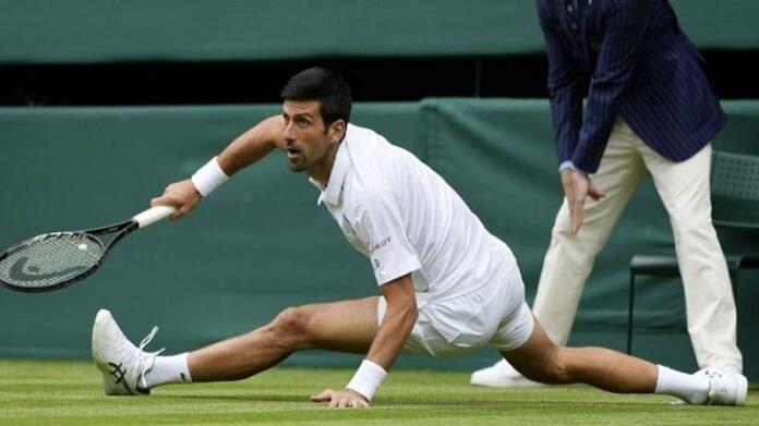 Wimbledon 2021 : नोव्हाक जोकोव्हीच स्वत:ला म्हणतो स्पायडर मॅन, सोशल मीडियावर Memes चा पाऊस   Novak Djokovic Shares his Photo Playing in Wimbledon 2021 And Gave caption as Spider Man After this post Memes On Novak spiderman Went Viral on Social Media